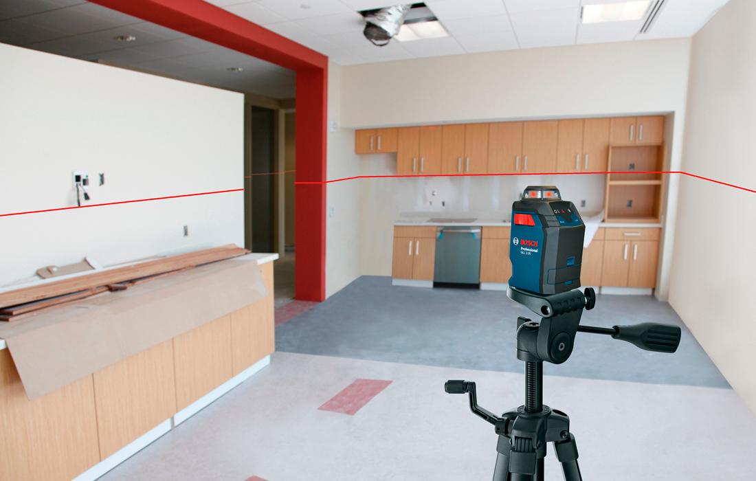 Линейный лазерный нивелир Bosch GLL 2-20 Professional
