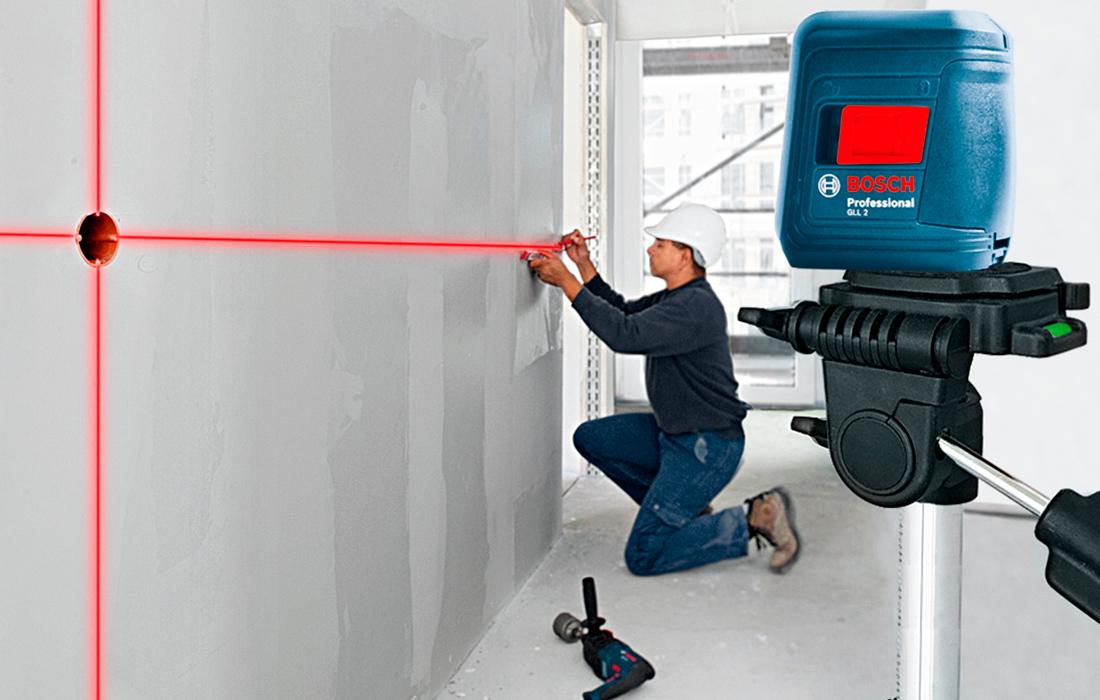Линейный лазерный нивелир Bosch GLL 2 Professional