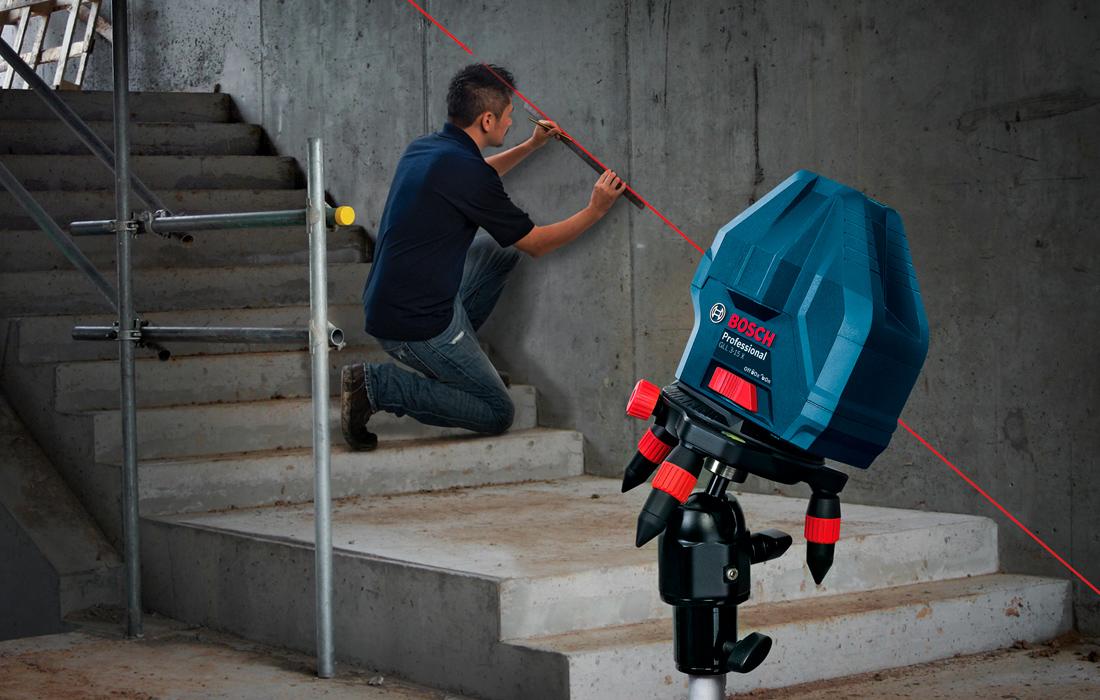 Линейный лазерный нивелир Bosch GLL 3-15X Professional
