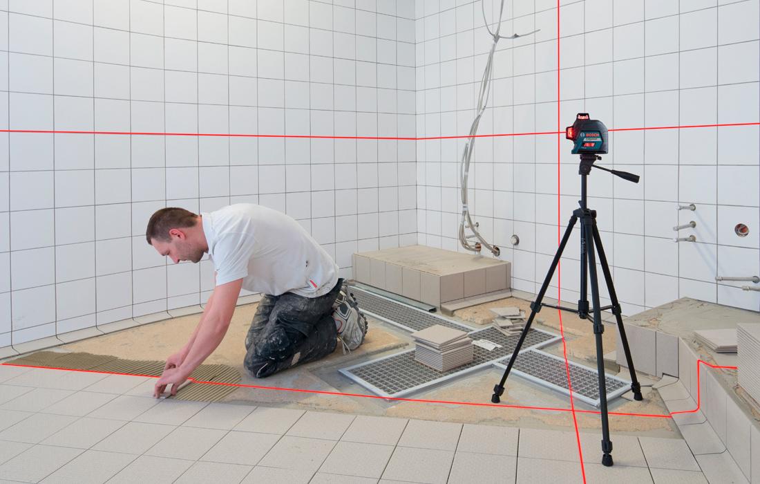 Линейный лазерный нивелир Bosch GLL 3-80 Professional