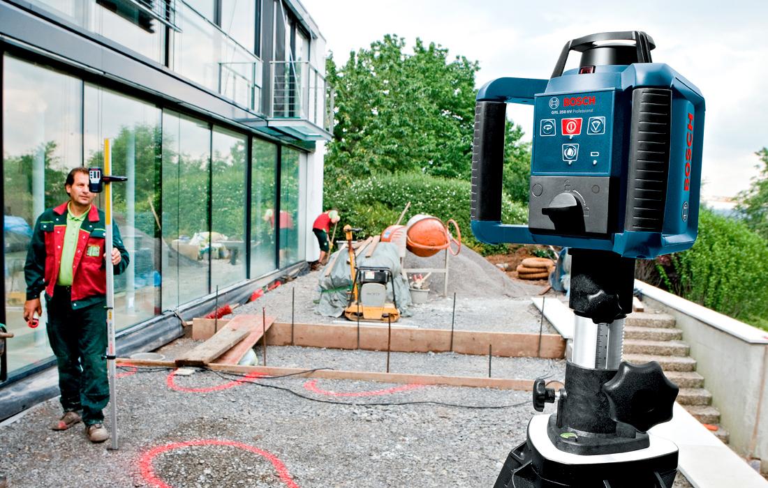 Ротационный нивелир Bosch GRL 250 HV Professional
