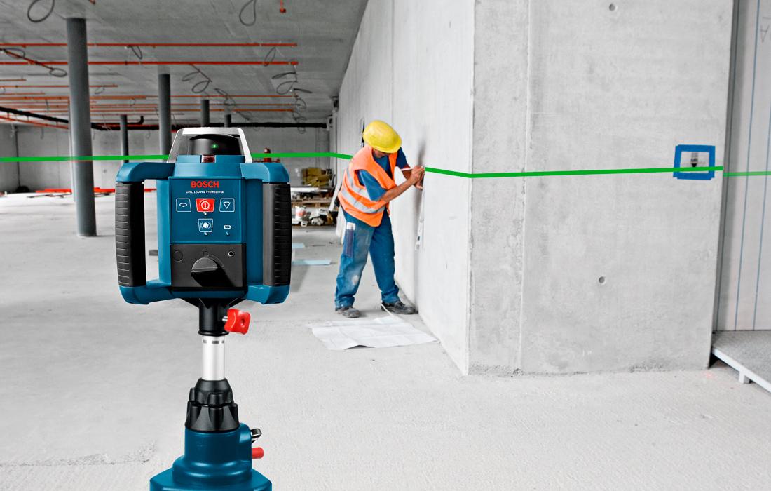 Ротационный нивелир Bosch GRL 300 HVG SET Professional