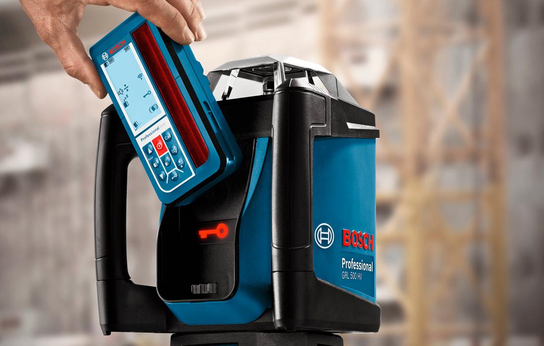 Ротационный нивелир Bosch GRL 500 H Professional + LR50