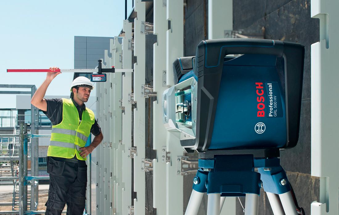 Ротационный нивелир Bosch GRL 500 HV Professional + LR50