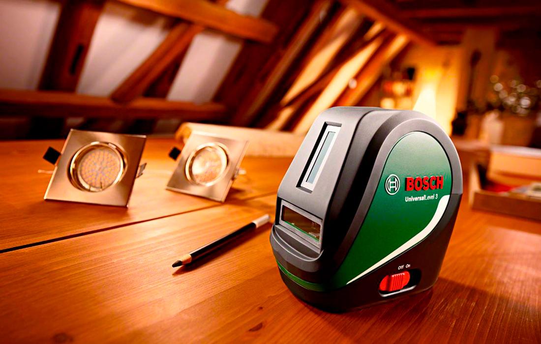 Линейный лазерный нивелир Bosch Universal Level 3