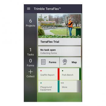 Полевое программное обеспечение Trimble TerraFlex