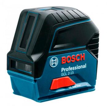 Линейный лазерный нивелир Bosch GCL 2-15 Professional + RM1