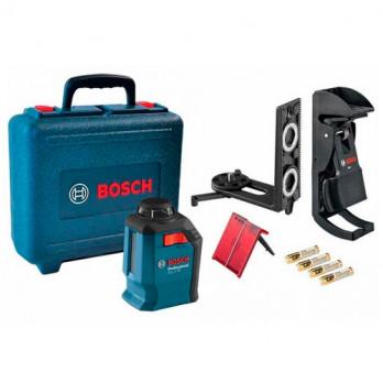 Линейный лазерный нивелир Bosch GLL 2-20 Professional + BM3 + кейс